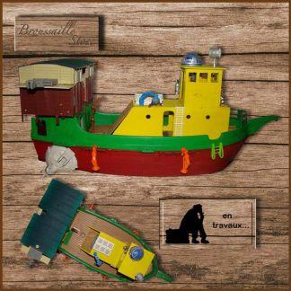 bateau Playmobil customisé