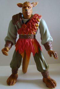 figurine articulée guerrier de la vertu