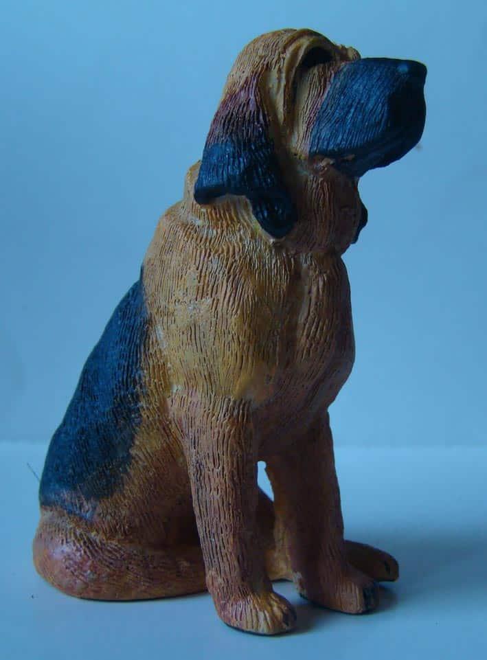 figurine de Saint Hubert