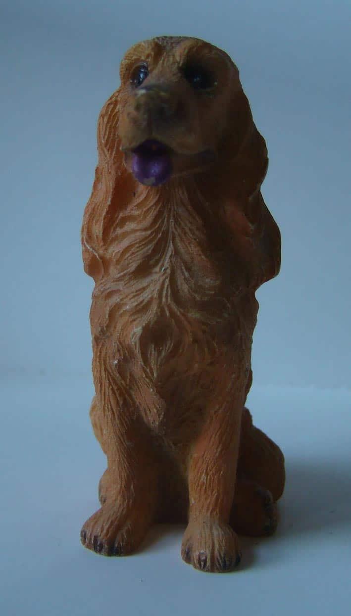figurine Cocker