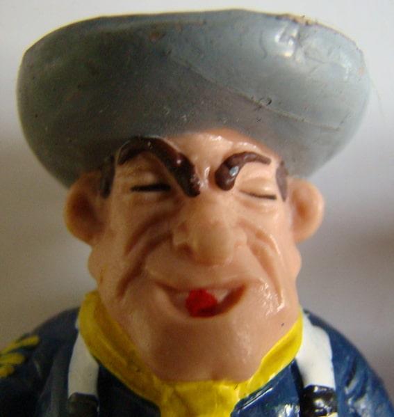 figurine US Cavalry de la BD Lucky Luke