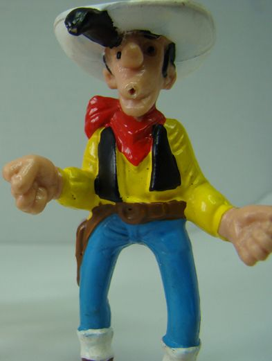 figurine BD Lucky Luke