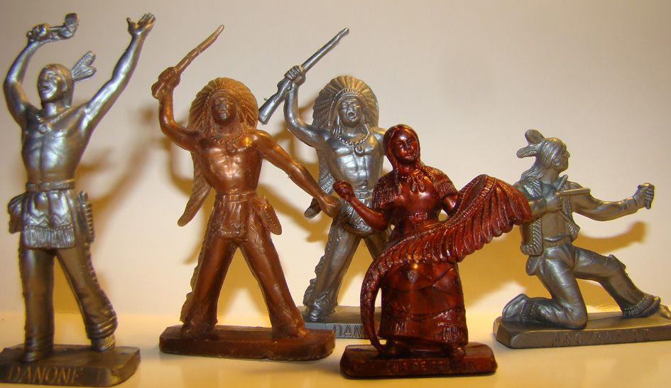 figurine publicitaire western