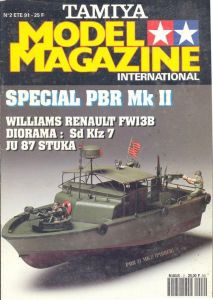 Revue Tamiya Model Magazine n°2