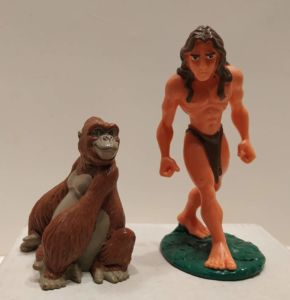 Figurine Tarzan & Kala